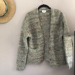Wilfred Yarn Cropped Cardi